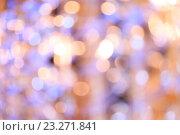 Купить «Разноцветный размытый фон с боке», фото № 23271841, снято 4 июля 2016 г. (c) Екатерина Молчанова / Фотобанк Лори
