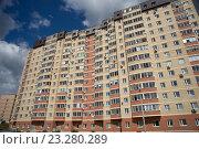 Жилой комплекс, город Зеленоград (2016 год). Редакционное фото, фотограф Малахов Алексей / Фотобанк Лори