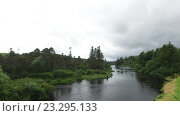 Купить «men fishing on river bank in ireland valley 1», видеоролик № 23295133, снято 23 июня 2016 г. (c) Syda Productions / Фотобанк Лори