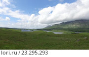 Купить «view to lake or river at connemara in ireland 30», видеоролик № 23295293, снято 23 июня 2016 г. (c) Syda Productions / Фотобанк Лори