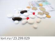 Таблетки. Стоковое фото, фотограф Татьяна Руденко / Фотобанк Лори
