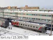 Москва-сортировочная,  Рижской железной дороги (2016 год). Редакционное фото, фотограф Дмитрий Неумоин / Фотобанк Лори