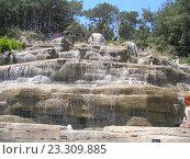 Водопад в Турции. Стоковое фото, фотограф Фёдор Ромашов / Фотобанк Лори
