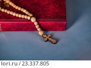Купить «Bible and cross in religious concept», фото № 23337805, снято 24 мая 2016 г. (c) Elnur / Фотобанк Лори