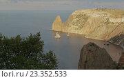 Купить «Красивый мыс Фиолент. Крым», видеоролик № 23352533, снято 3 августа 2016 г. (c) Юлия Машкова / Фотобанк Лори