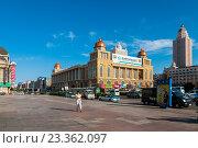 Летний город Манчжурия. Китай. (2016 год). Редакционное фото, фотограф Виталий Харин / Фотобанк Лори