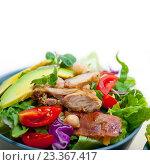 Chicken Avocado salad. Стоковое фото, фотограф Francesco Perre / Фотобанк Лори