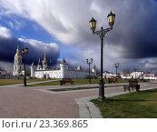 Купить «Тобольский Кремль. Тобольск.», фото № 23369865, снято 15 октября 2013 г. (c) Сергей Афанасьев / Фотобанк Лори