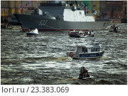 День ВМФ в Петербурге (2016 год). Редакционное фото, фотограф Александр Невский / Фотобанк Лори