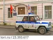 Купить «71 отдел полиции Петроградского района», фото № 23393617, снято 12 августа 2016 г. (c) Sergei Gushchin / Фотобанк Лори