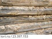 Текстура: часть старой стены. Стоковое фото, фотограф Михаил Степанов / Фотобанк Лори