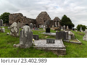 Купить «old celtic cemetery graveyard in ireland», фото № 23402989, снято 24 июня 2016 г. (c) Syda Productions / Фотобанк Лори