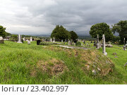 Купить «old celtic cemetery graveyard in ireland», фото № 23402997, снято 24 июня 2016 г. (c) Syda Productions / Фотобанк Лори