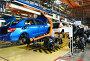 Купить «Главный конвейер, сборка автомобиля», эксклюзивное фото № 23406785, снято 20 сентября 2018 г. (c) Staryh Luiba / Фотобанк Лори