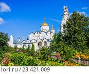 Купить «Суздаль, Покровский женский монастырь», фото № 23421009, снято 21 августа 2016 г. (c) Алексей Ларионов / Фотобанк Лори