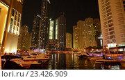 Купить «Вид на Гонконг ночью», видеоролик № 23426909, снято 24 октября 2014 г. (c) Elnur / Фотобанк Лори