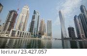 Купить «Вид на Гонконг днем», видеоролик № 23427057, снято 24 октября 2014 г. (c) Elnur / Фотобанк Лори
