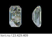 Купить «Изумрудная огранка драгоценного камня», иллюстрация № 23429409 (c) Арсений Герасименко / Фотобанк Лори