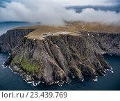 Купить «North Cape (Nordkapp) aerial photography,», фото № 23439769, снято 20 июня 2016 г. (c) Андрей Армягов / Фотобанк Лори