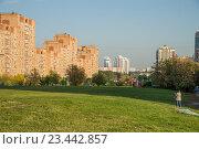 Жилые дома в Москве (2014 год). Редакционное фото, фотограф Малахов Алексей / Фотобанк Лори