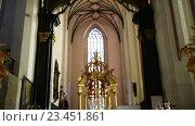 Купить «Parish of Assumption of Blessed Virgin Mary, Torun», видеоролик № 23451861, снято 6 ноября 2015 г. (c) BestPhotoStudio / Фотобанк Лори