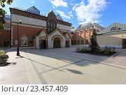 Купить «Москва. Государственная Третьяковская галерея», эксклюзивное фото № 23457409, снято 31 августа 2016 г. (c) Яна Королёва / Фотобанк Лори