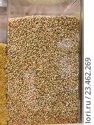 Купить «buckwheat shop», фото № 23462269, снято 18 января 2020 г. (c) Яков Филимонов / Фотобанк Лори