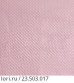 Розовая стеганая ткань. Стоковое фото, фотограф Ольга Бавыкина / Фотобанк Лори