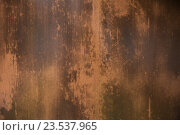Купить «close up of old rusty metal surface», фото № 23537965, снято 27 июня 2016 г. (c) Syda Productions / Фотобанк Лори