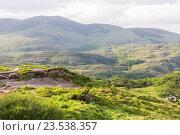 Купить «view to Killarney National Park hills in ireland», фото № 23538357, снято 25 июня 2016 г. (c) Syda Productions / Фотобанк Лори