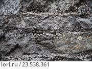Купить «close up of old brick or stone wall background», фото № 23538361, снято 27 июня 2016 г. (c) Syda Productions / Фотобанк Лори