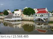 The Bang Pa-In Royal Palace in Thailand's Phra Nakhon Si Ayutthaya Province (2016 год). Стоковое фото, фотограф Natalya Sidorova / Фотобанк Лори