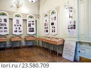 Экспозиция в Торговом доме Пассаж, посвященная жизни универмага в разные годы. Санкт-Петербург (2016 год). Редакционное фото, фотограф Румянцева Наталия / Фотобанк Лори