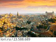 Купить «Morning view of Toledo», фото № 23588689, снято 23 августа 2013 г. (c) Яков Филимонов / Фотобанк Лори