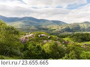 Купить «view to Killarney National Park hills in ireland», фото № 23655665, снято 25 июня 2016 г. (c) Syda Productions / Фотобанк Лори