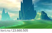 Купить «Чужая планета. Скалы и озеро», видеоролик № 23660505, снято 1 октября 2016 г. (c) Parmenov Pavel / Фотобанк Лори