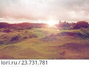 Купить «view to plain and lake at connemara in ireland», фото № 23731781, снято 23 июня 2016 г. (c) Syda Productions / Фотобанк Лори