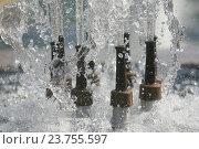 Струи воды фонтана. Стоковое фото, фотограф Хацаюк Павел Павлович / Фотобанк Лори