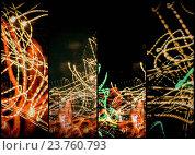 Купить «Lightpainting Quads Art Print Photograph 5», фото № 23760793, снято 30 марта 2020 г. (c) age Fotostock / Фотобанк Лори