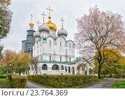 Новодевичий монастырь в Москве (2016 год). Стоковое фото, фотограф Depth / Фотобанк Лори