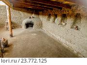 Купить «Реконструкция древнего жилища, Аркаим», фото № 23772125, снято 20 июня 2015 г. (c) Хайрятдинов Ринат / Фотобанк Лори