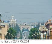 Ulan-Ude city (2016 год). Стоковое фото, фотограф Александр Fanfo / Фотобанк Лори