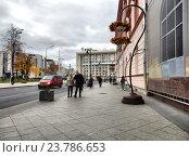 Мясницкая улица. Басманный район. Москва (2016 год). Редакционное фото, фотограф lana1501 / Фотобанк Лори