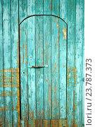 Купить «Деревянная дверь», фото № 23787373, снято 5 июля 2015 г. (c) Валерий Шанин / Фотобанк Лори