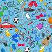 Набор различных иконок, иллюстрация № 23802945 (c) Наталья Загорий / Фотобанк Лори