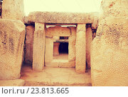 Купить «prehistoric Mnajdra temples. Malta», фото № 23813665, снято 19 декабря 2010 г. (c) Яков Филимонов / Фотобанк Лори