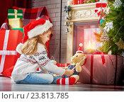 Купить «Christmas celebration», фото № 23813785, снято 21 сентября 2015 г. (c) Константин Юганов / Фотобанк Лори