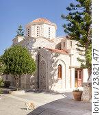 Купить «Христианский, православный храм (Греция, Крит)», фото № 23821477, снято 1 октября 2016 г. (c) Татьяна Ляпи / Фотобанк Лори