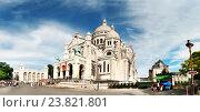 Базилика Сакре кер. Париж. Франция (2016 год). Редакционное фото, фотограф Елена Поминова / Фотобанк Лори