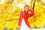 Красивая девушка в осеннем парке, фото № 23823629, снято 11 октября 2013 г. (c) Иван Михайлов / Фотобанк Лори